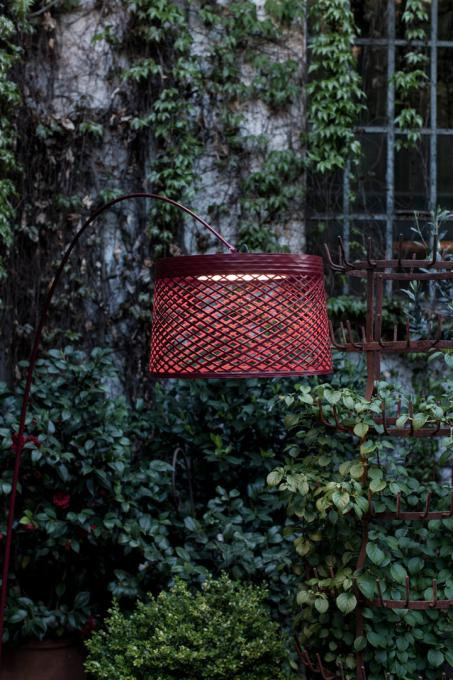 Foscarini Twiggy Grid Outdoor Terra rot