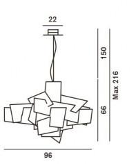 Foscarini Big Bang Sospensione Ersatzteil