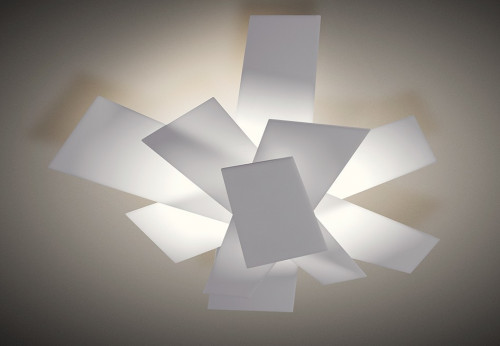 Foscarini Big Bang Parete / Soffitto weiß