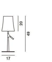 Foscarini Birdie Piccola Tavolo Grafik