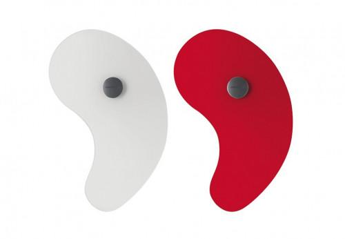 Foscarini Bit 1 weiß und rot