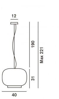 Foscarini Chouchin 1 Grafik