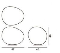 Foscarini Poly Gregg X-large Grafik