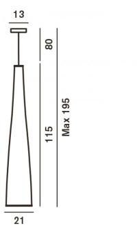 Foscarini Tite 1 Grafik