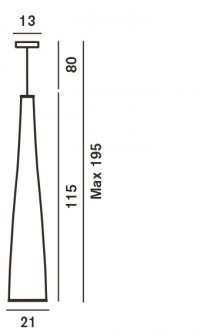 Foscarini Tite 1 Ersatzteil