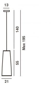 Foscarini Tite2 Grafik