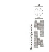 Foscarini Runder Mehrfach-Baldachin für Tress
