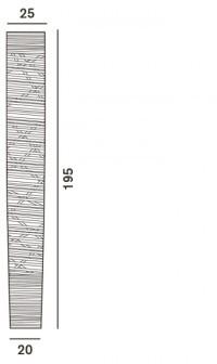 Foscarini Tress Terra grande LED Grafik