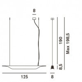 Foscarini Troag Piccola Grafik