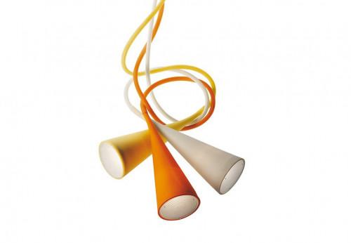 Foscarini Uto weiß, gelb und orange