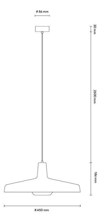 Grupa Arigato Pendant Large Grafik