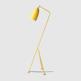 Gubi Gräshoppa Floor Lamp GM1 espen-gelb
