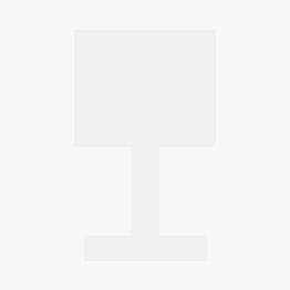 GUBI Gravity Table Lamp S Version 1, Schirm weiß, Fuß Stahl