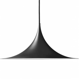 Gubi Semi Pendant SM1 Schwarz