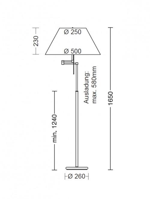 Holtkötter 2541 50 cm Ersatzteil