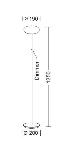 Holtkötter Amor S Diffusordurchmesser 19 cm Grafik