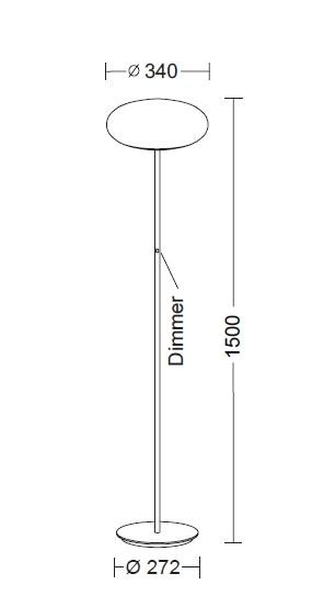 Holtkötter Amor S Diffusordurchmesser 34 cm Grafik