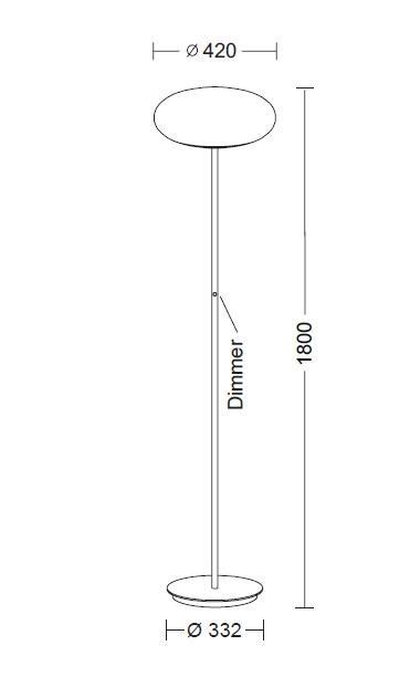 Holtkötter Amor S Diffusordurchmesser 42 cm Grafik