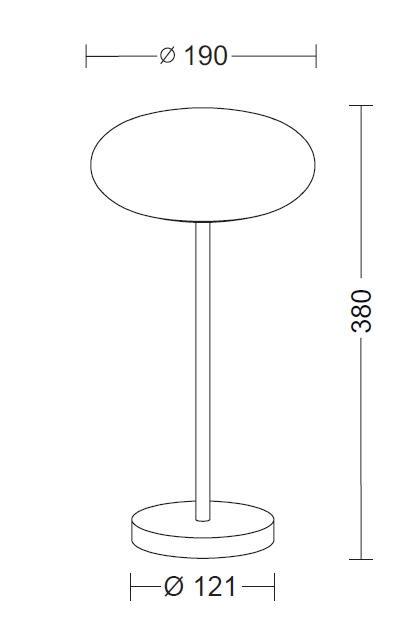 Holtkötter Amor T 9352 Diffusordurchmesser 19 cm Grafik