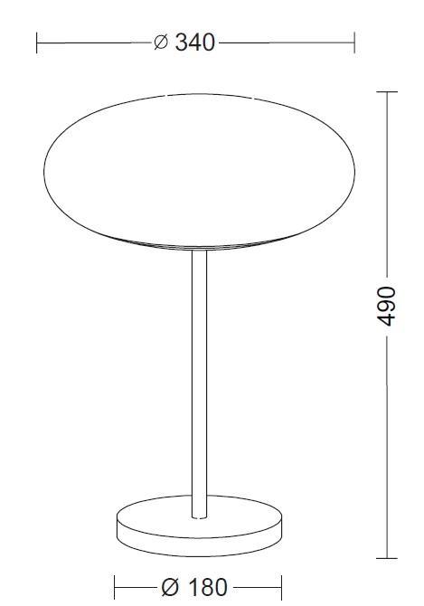 Holtkötter Amor T 9352 Diffusordurchmesser 34 cm Grafik