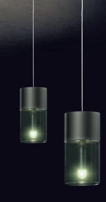 Holtkötter Aura P2 Platin, Gläser rauchgrau