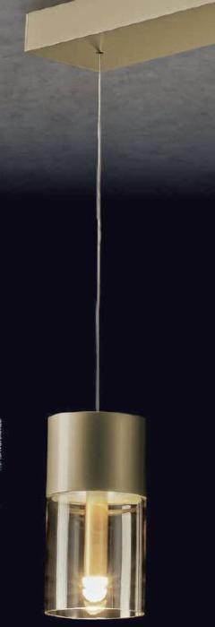 Holtkötter Aura Messing, Glas amber