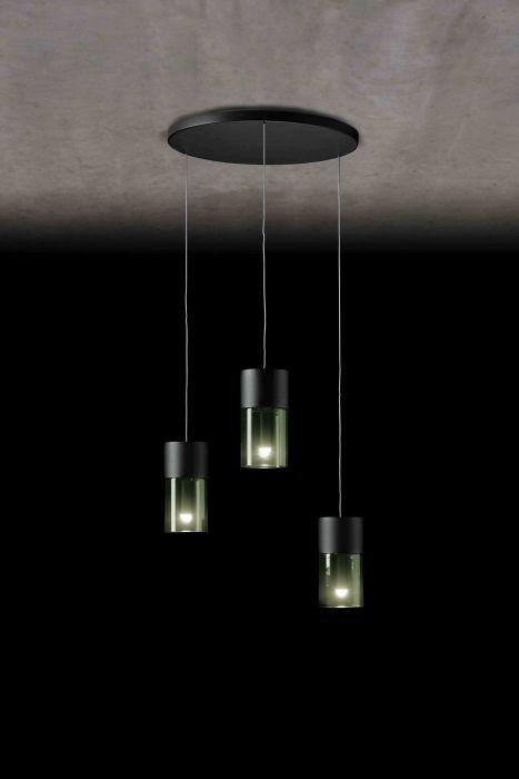 Holtkötter Aura R3 schwarz, Gläser rauchgrau