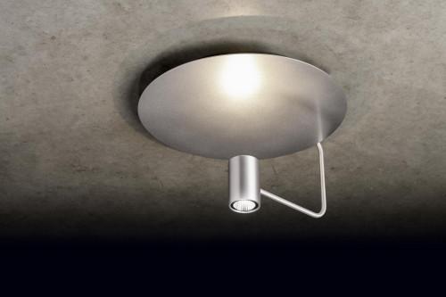Holtkötter Disc Reflektor silber, Leuchtenkopf Aluminium