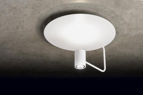 Holtkötter Disc Reflektor weiß, Leuchtenkopf weiß