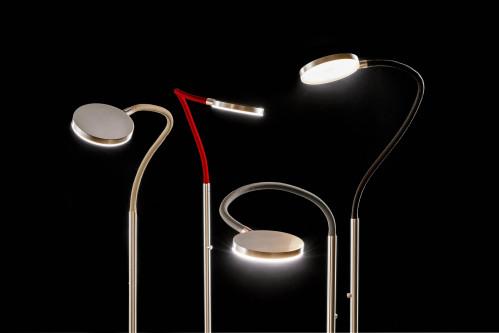 Holtkötter Flex S Aluminium, Armfarbe sand, rot, grau und schwarz