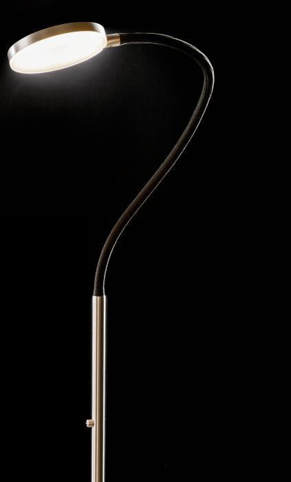 Holtkötter Flex S Version 12 Aluminium, Armfarbe schwarz