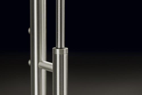 Holtkötter Nova Plano Aluminium Leuchtenstab mit Tastdimmer