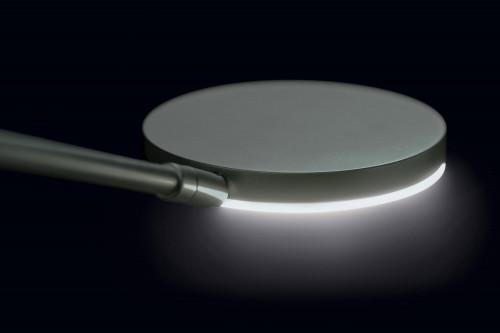 Holtkötter Nova Plano Platin Leuchtenkopf des Lesearms