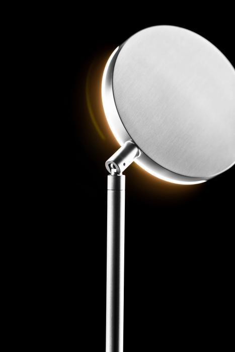 Holtkötter Plano S drehbarer Leuchtenkopf Aluminium