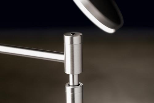 Holtkötter Plano T Tastdimmer am Leuchtenstab Aluminium