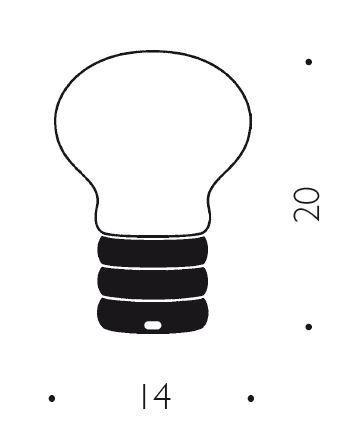 Ingo Maurer B.Bulb Grafik