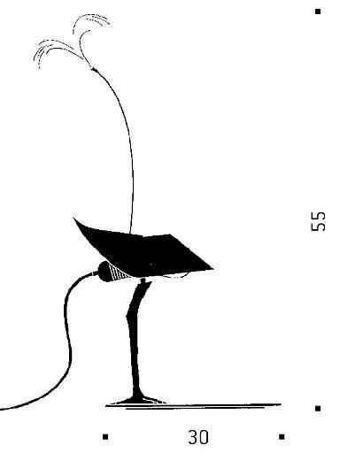 Ingo Maurer BIBIBIBI Grafik