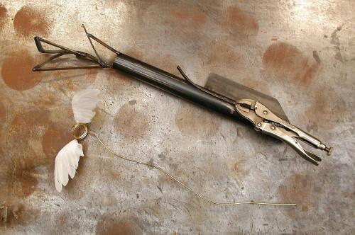 Ingo Maurer Birdies Nest Ersatz - Flügelpaar