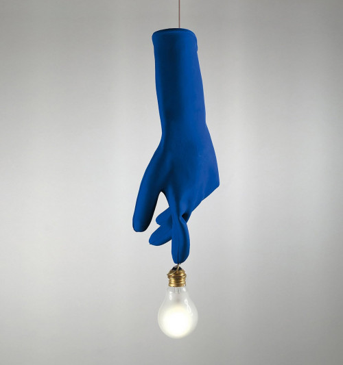 Ingo Maurer Blue Luzy