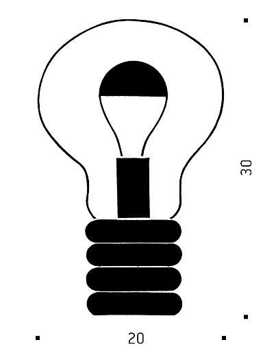 Ingo Maurer Bulb Grafik