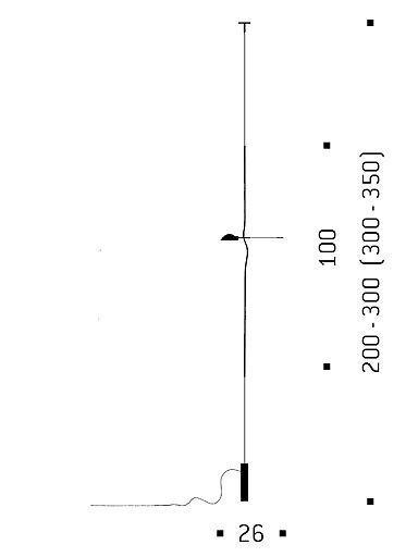Ingo Maurer Schnurtransformator mit Schieberegler für Hot Achille