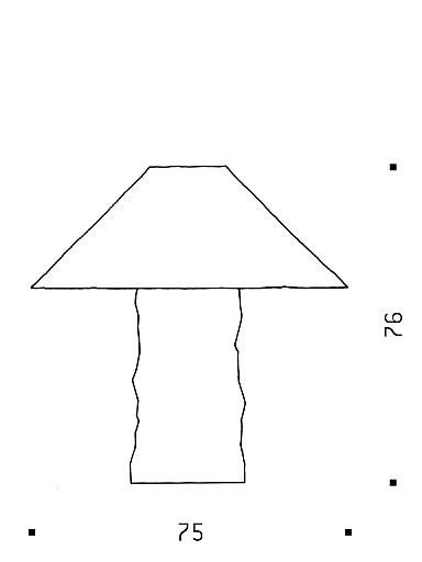 Ingo Maurer Lampampe Grafik