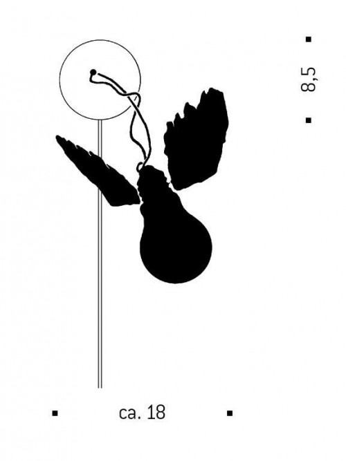 Ingo Maurer Lucellino W mit Trafo Grafik