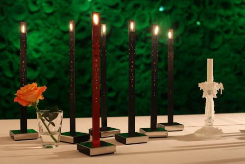 Ingo Maurer My New Flame schwarz und rot