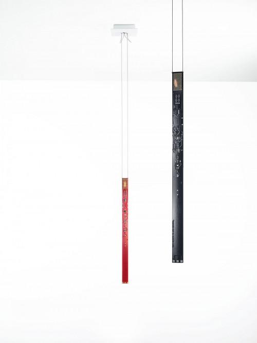 Ingo Maurer One New Flame rot und schwarz