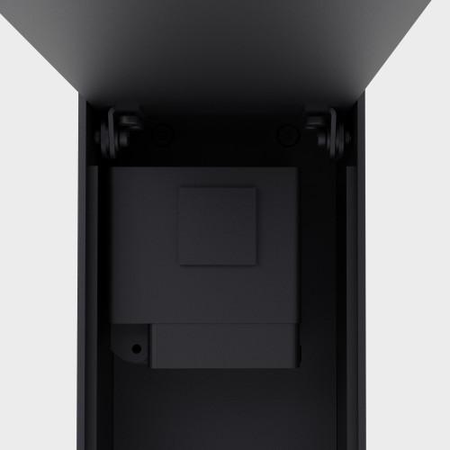 IP44.DE Jack schwarz Abdeckplatte für Steckdose