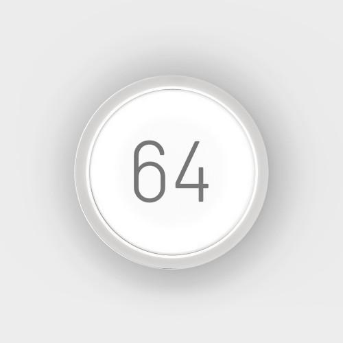 IP44.DE Lisc Number weiß (von vorn)