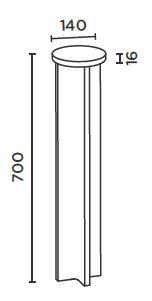 IP44.DE Mir R 70 Poller Grafik