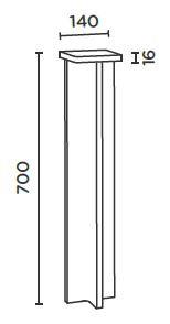 IP44.DE Mir X 70 Poller Grafik