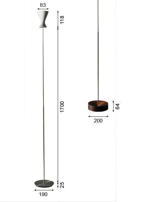 K-meral MELA Stehleuchte Grafik
